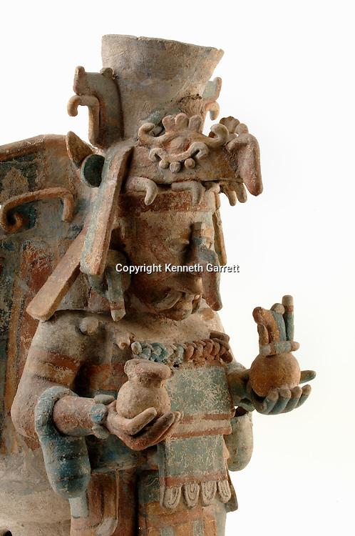 Maya Rise and Fall; Mexico City; National Museum of Anthropology and History; INAH; Mayapan; Site; Mayan; Maya; Ancient Cultures; incensario; Site still Maya at Spanish Conquest
