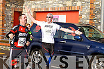 Keith Power and Malachy Kelly at the Valentines 10 mile road race in Tralee on Saturday.