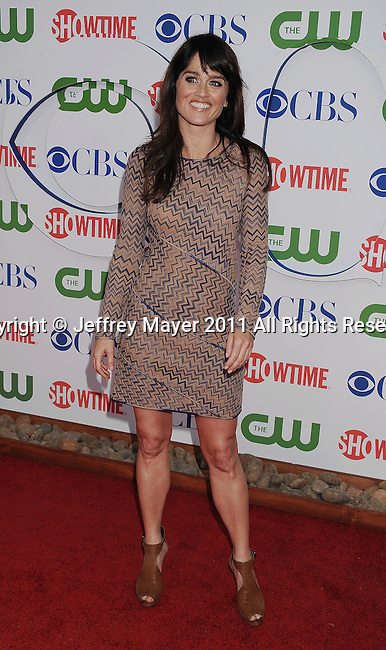 BEVERLY HILLS, CA - AUGUST 03: Robin Tunney arrives at the TCA Party for CBS, The CW and Showtime held at The Pagoda on August 3, 2011 in Beverly Hills, California.