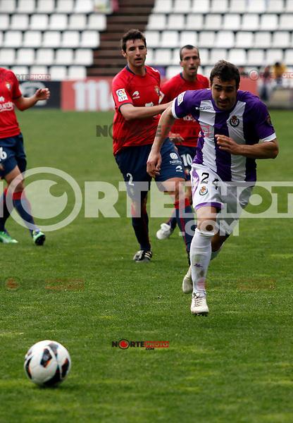 Real Valladolid´s Balenziaga during match of La Liga 2012/13. 31/03/2013. Victor Blanco/Alterphotos /NortePhoto