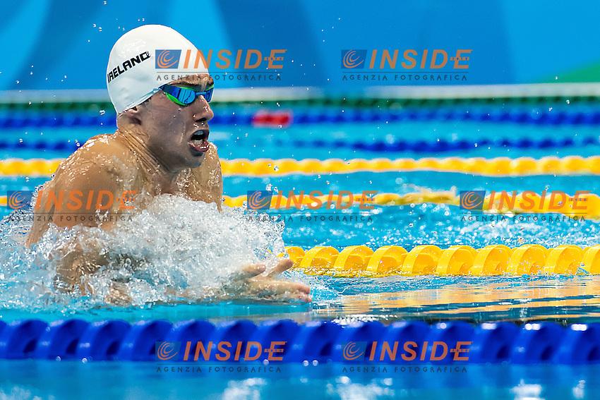 Quinn Nicholas IRL<br /> 100 breaststroke men<br /> Rio de Janeiro 06-08-2016 XXXI Olympic Games <br /> Olympic Aquatics Stadium <br /> Swimming heats 06/08/2016<br /> Photo Giorgio Scala/Deepbluemedia/Insidefoto