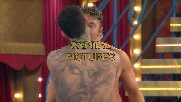 Scotty T and Jeremy McConnell<br /> Celebrity Big Brother 2016 - Day 21<br /> *Editorial Use Only*<br /> CAP/KFS<br /> Image supplied by Capital Pictures