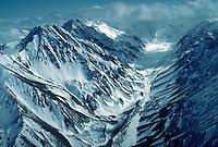 The Alaska Range at Denali National Park, Alaska