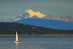 Mt. Baker as seen from Anacortes, Washington