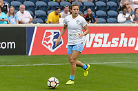 Bridgeview, IL - Sunday August 20, 2017: Sofia Huerta during a regular season National Women's Soccer League (NWSL) match between the Chicago Red Stars and FC Kansas City at Toyota Park. KC Kansas City won 3-1.