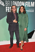 Stephen Woolley and Elizabeth Karlsen at the 61st BFI LFF &quot;On Chesil Beach&quot; Love gala, Embankment Garden Cinema, Villiers Street, London, England, UK, on Sunday 08 October 2017.<br /> CAP/CAN<br /> &copy;CAN/Capital Pictures