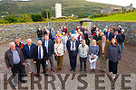 Pictured at the official opening of Saidhbh's Fort in Cahersiveen on Tuesday evening were front l-r; Gerry Clifford(Stone Mason), Batty Moriarty(Stone Mason), Kieran McCarthy, Danny Healy Rae TD, Kieran Barry(Department of Employment Affairs & Social Protection), Gráine O'Sullivan(HEODEASP), Cllr Dan McCarthy, Jeffrey Quirke(Lord Mayor of Cahersiveen), Cllr Norma Moriarty, Frank Curran(Chairman ACARD)& Mary Sugrue from from the Irish American Partnership in Boston.
