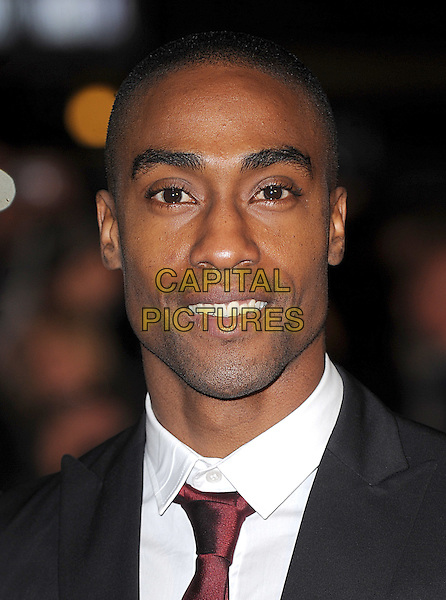 "SIMON WEBBE.The Royal World Premiere of ""Quantum Of Solace"" at the Odeon Leicester Square, London, England. .October 29th 2008 .James Bond headshot portrait webb black white.CAP/BEL.©Tom Belcher/Capital Pictures."
