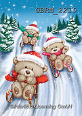 Roger, CHRISTMAS ANIMALS, WEIHNACHTEN TIERE, NAVIDAD ANIMALES, paintings+++++,GBRM2215,#xa#