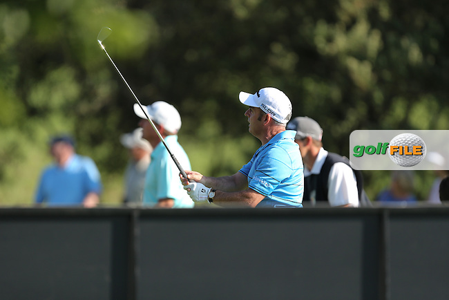 Paul McGinley (IRL) during Round Two at the SA Open Championship 2013 at the Glendower Golf Club, Ekurhuleni, Johannesburg, South Africa. Picture:  David Lloyd / www.golffile.ie