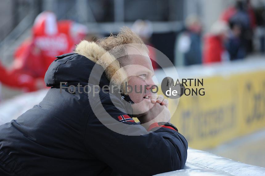 SCHAATSEN: BOEDAPEST: Essent ISU European Championships, 08-01-2012, Marnix Wieberdink, SportNavigator, KIA Schaatsacademie Inzell, ©foto Martin de Jong
