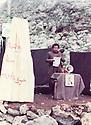 Iraq 1984 .Celebration of Nowruz  in Surien .Irak 1984  .Celebration de Nowruz dans les montagnes a Surien