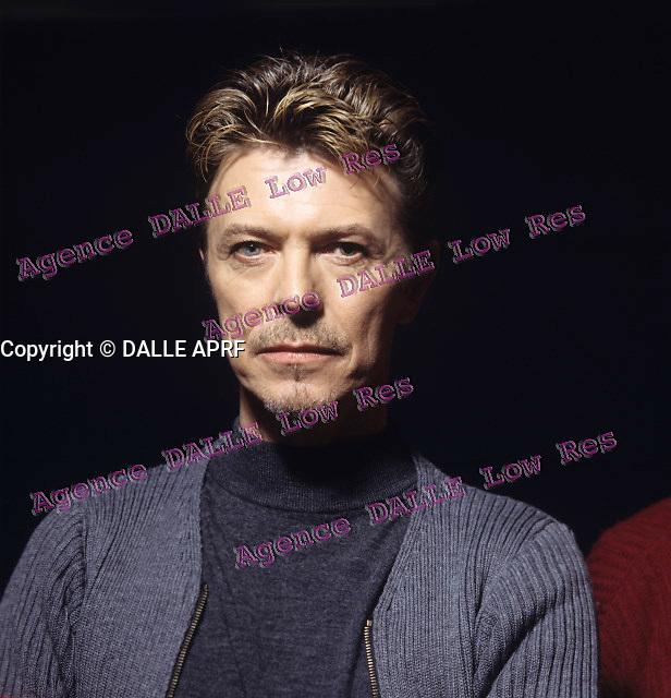 David Bowie<br /> 1995<br /> Crédit : Montfourny/Dalle