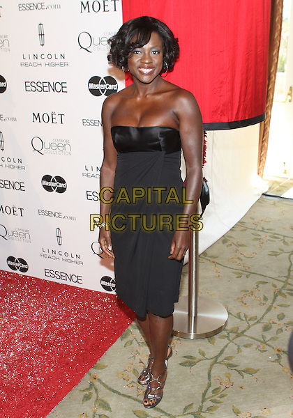 VIOLA DAVIS .The Third Annual ESSENCE Black Women In Hollywood Luncheon held at The Beverly Hills Hotel in Beverly Hills, California, USA. .March 4th, 2010 .full length dress black strapless .CAP/ADM/TC.©T. Conrad/AdMedia/Capital Pictures.