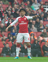 Arsenal's Reiss Nelson during the EPL - Premier League match between Arsenal and Southampton at the Emirates Stadium, London, England on 8 April 2018. Photo by Andrew Aleksiejczuk / PRiME Media Images.