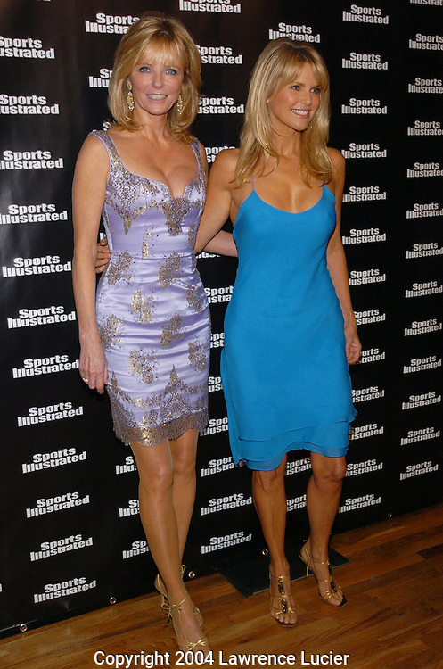Christie Brinkley and Cheryl Tiegs