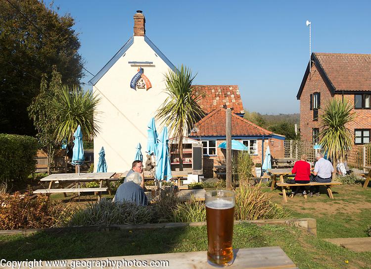 The Eels' Foot Inn, Eastbridge, Suffolk, England, UK