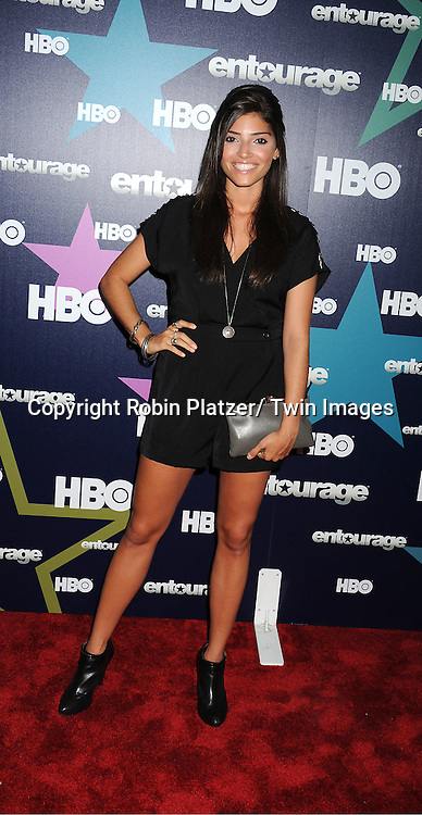 """Amanda Setton attending The Eighth and Final Season Premiere of the HBO Show """"Entourage"""" on July 19, 2011 at The Beacon Theatre in New York City."""