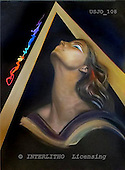 Marie, MODERN, MODERNO, paintings+++++WsTriangle,USJO108,#N# Joan Marie woman