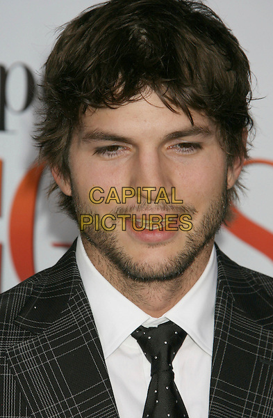 "01 May 2008 - Westwood, California - Ashton Kutcher. ""What Happens In Vegas"" Los Angeles Premiere held at the Mann Village Theater. Photo Credit: Russ Elliot/AdMedia."