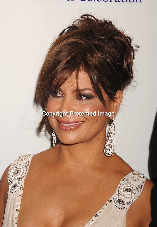 Paula Abdul ..posing for photographers at The Fragence Foundation FIFI Awards on May 31, 2007 at The Winter Garden. ..Robin Platzer, Twin Images......212-935-0770