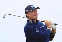 Ernie Els (USA) on the 17th tee during Round 4 of the 2015 Alfred Dunhill Links Championship at the Old Course in St. Andrews in Scotland on 4/10/15.<br /> Picture: Thos Caffrey | Golffile