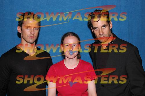 London Film and Comic Con 2007, Adrian Pasdar, Milo Ventimiglia, Petrelli Brothers