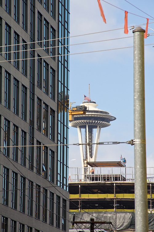 Seattle, South Lake Union, tech construction, new construction, Washington State, United States,
