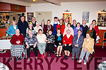 The Cromane Community Commitee and Active Retirees enjoying their Christmas party in the Manor Inn Hotel on Sunday