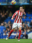 Ibrahim Afellay of Stoke Cityvduring the premier league match at Stamford Bridge Stadium, London. Picture date 30th December 2017. Picture credit should read: Robin Parker/Sportimage
