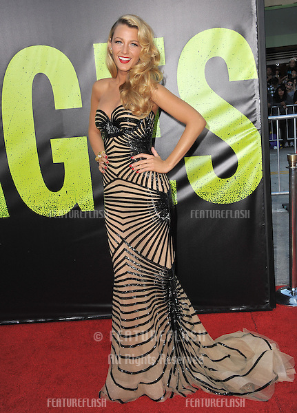 "Blake Lively at the world premiere of her movie ""Savages"" at Man Village Theatre, Westwood..June 26, 2012  Los Angeles, CA.Picture: Paul Smith / Featureflash"