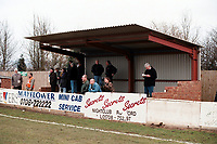 Covered area at Collier Row FC Football Ground, Sungate, Collier Row, Romford, Essex, pictured on 1st February 1997