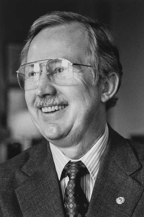 Secretary of the Senate Joe Stewart on Sep. 14, 1989. (Photo by Laura Patterson/CQ Roll Call)