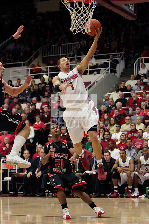 Stanford, CA - DECEMBER 28:  Mitch Johnson of the Stanford Cardinal during Stanford's 111-66 win against the Texas Tech Red Raiders on December 28, 2008 at Maples Pavilion in Stanford, California.