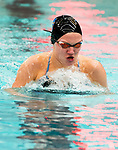 NAUGATUCK ,  CT-101019JS10- Seymour's Olivia Velleco competes in the 200 Yard Individual Medley during their with Naugatuck meet Friday at Naugatuck High School. <br /> Jim Shannon Republican-American
