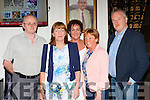 Gerard and Nora Kelly, Maura reidy, Noel and Helen Brosnan at the Dermot Moriarty 25th anniversary concert in the Gleneagle Hotel on Saturday night