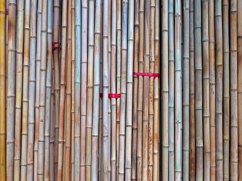 Bamboo_in the streets of Hanoi, Vietnam