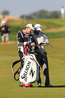 Greame McDowell (NIR) on the 11th fairway during Round 2 of the 2015 Alfred Dunhill Links Championship at Kingsbarns in Scotland on 2/10/15.<br /> Picture: Thos Caffrey | Golffile
