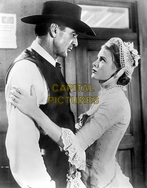 GARY COOPER & GRACE KELLY.in High Noon (1952).*Filmstill - Editorial Use Only*.CAP/STF/PEL.Supplied by Capital Pictures.