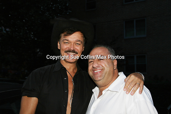 Randy Jones Book Release party - .Hayne Suthon & Randy Jones invite you to a WILD WEST SHOWDOWN between Macho Man and The Lovely Ladettes of Lucky Cheng's Celebrating Macho Man: The Disco Era and the Coming Out of Gay America, the book by Randy Jones and Mark Bego..Randy Jones and the Ladies of Lucky Chengs as the Village People perform YMCA - June 25 at MARFA Restaurant NYC, NY. (Photos by Sue Coflin/Max Photos)