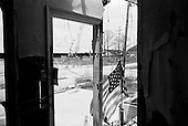 New Orleans, Louisiana.USA.July 28, 2006..From a home in the Lake View area that was severely damaged by the levee break on the 17th street canal nearly one year after hurricane Katrina hit and the levees broke leaving 80% of the city flooded....