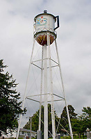 Giant Coffee Pot water tower in Stanton, Iowa.