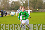 Kerry's Paddy Collins at the Kerry against DDSL in the Youths Cup at Mounthawk park on Sunday