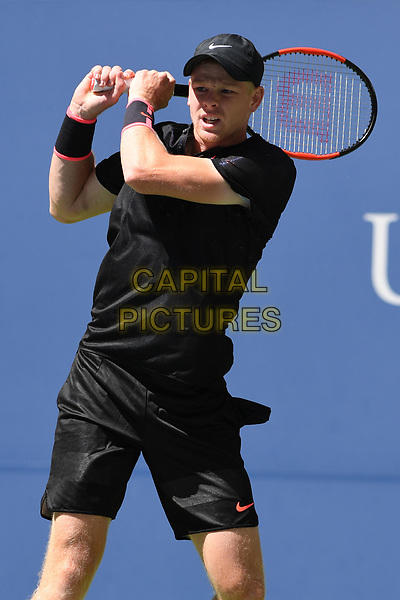 FLUSHING, NY- SEPTEMBER 01: ***NO NY DAILIES***  Denis Shapovalov Vs Kyle Edmond during the 2017 US Open at the USTA Billie Jean King National Tennis Center on September 1, 2017 in Flushing Queens. <br /> CAP/MPI04<br /> &copy;MPI04/Capital Pictures