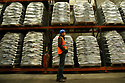 TO GO WITH STORY BY Arthur Beesley. DATE 8 FEB 2018. Bagged Wood Pellets made at Balcas Timber Ltd,  Laragh, Ballinamallard, Enniskillen Co. Fermanagh, Northern Ireland. Photo/Paul McErlane