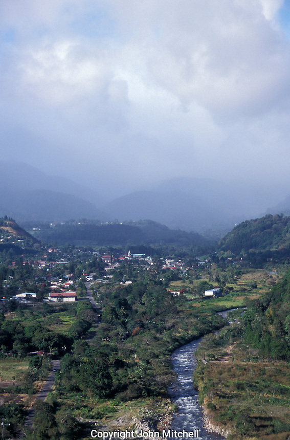 The misty mountain town of Boquete, Panama