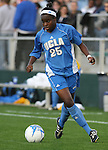 1 December 2006: UCLA's Danesha Adams. The University of North Carolina Tarheels defeated the University of California Los Angeles Bruins 2-0 at SAS Stadium in Cary, North Carolina in an NCAA Division I Women's College Cup semifinal game.