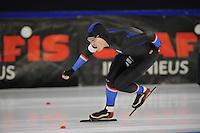 SCHAATSEN: HEERENVEEN: 19-11-2016, IJsstadion Thialf, KNSB trainingswedstrijd, Sjoerd de Vries, ©foto Martin de Jong