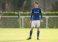 Matthew Foulds of Everton during the U23 - Premier League 2 match between Tottenham Hotspur U23 and Everton at Tottenham Training Ground, Hotspur Way, England on 15 January 2018. Photo by Vince  Mignott / PRiME Media Images.