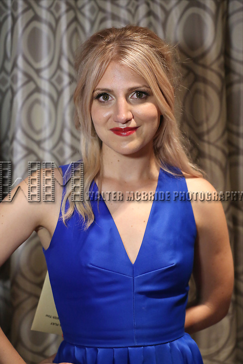 Annaleigh Ashford visits the 2015 Drama Desk Awards Media Room at Marriott Marquis Times Square on May 31, 2015 in New York City.